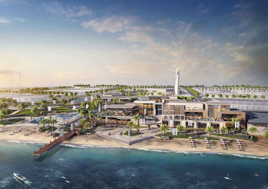 Aldar real estate is completing the construction and equipping of Reem Central Park in Abu Dhabi and plans to open next month