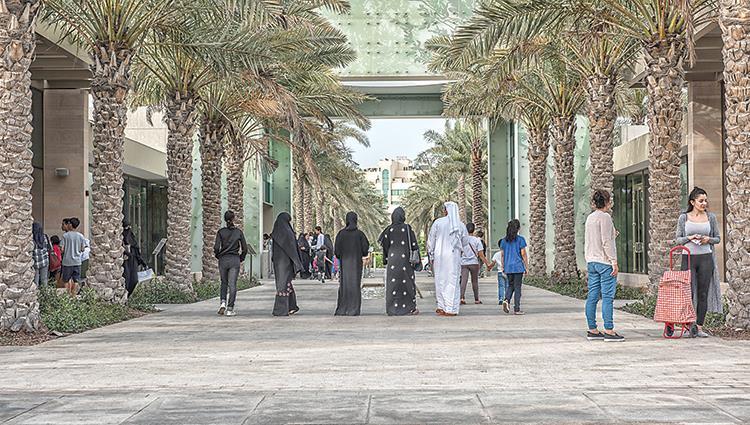 حديقة أم الإمارات تحتفل باليوم الوطني