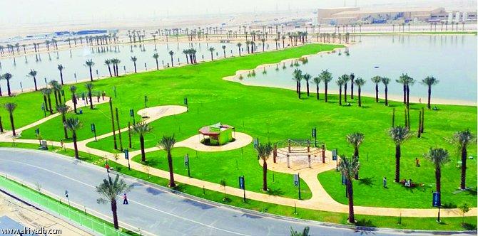 حديقة بحيرة مدن