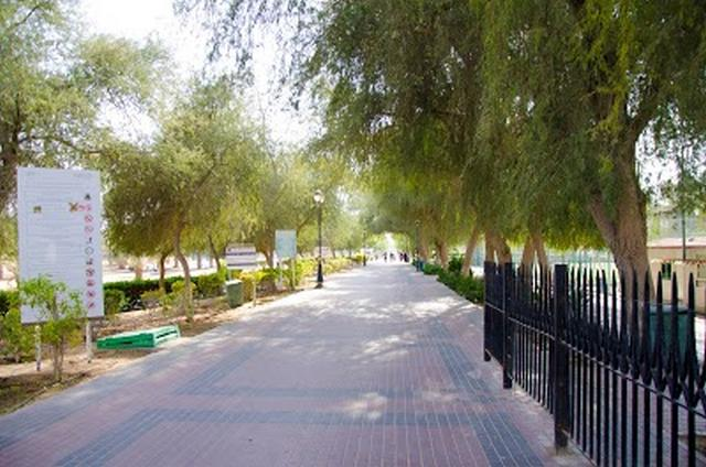 حديقة الحميدية في عجمان السياحة في عجمان الامارات