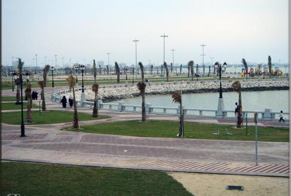 King Abdullah Park,Sea front