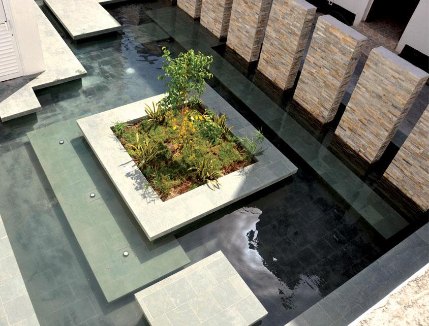 الحديقة المائية