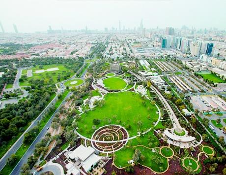 اخبار عن حديقة أم الإمارات