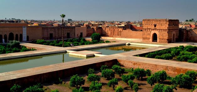 حدائق قصر البديع