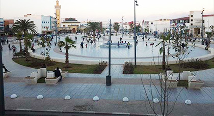 Almasirat alkhadra' Square