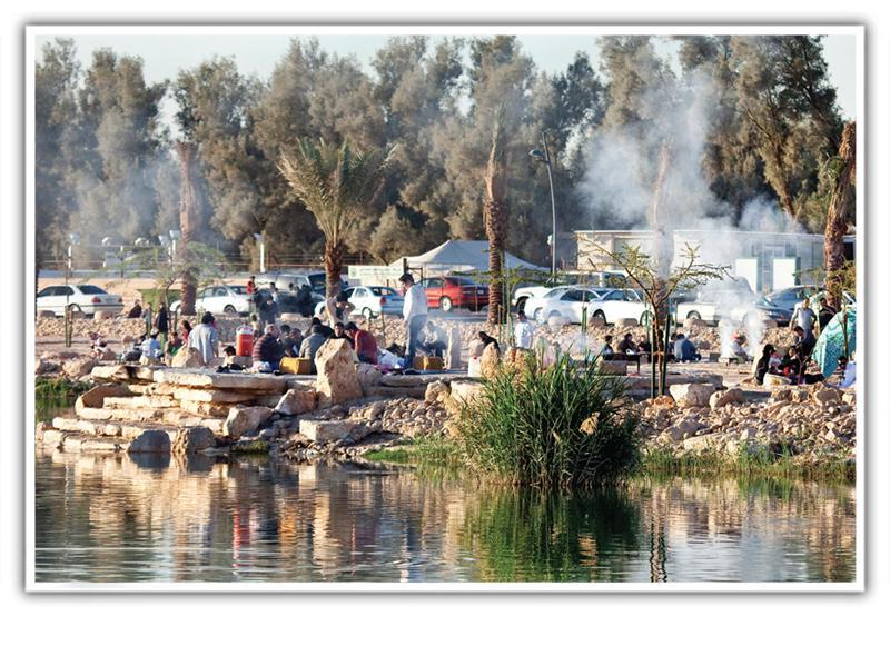 منتزه بحيرة المصانع - وادي حنيفة