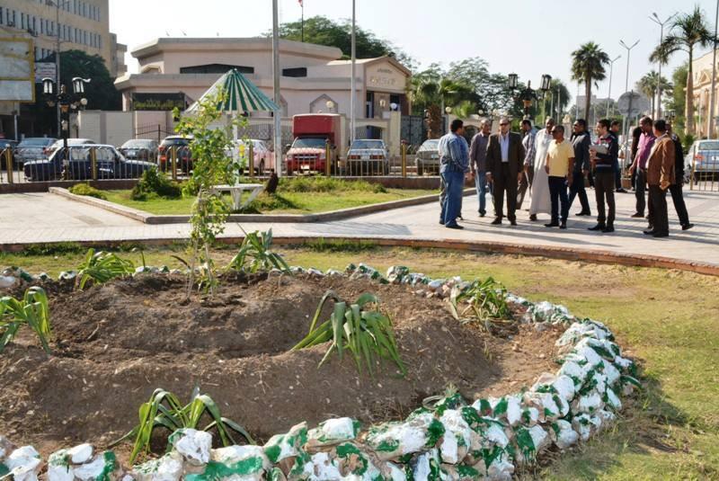 Gamal Abdel Nasser Square Garden