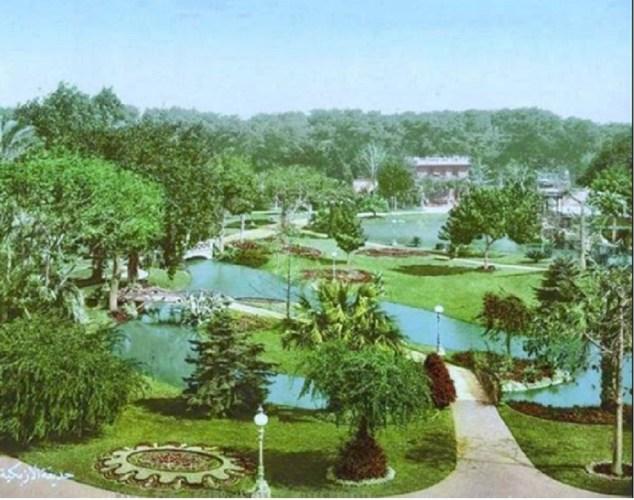 حديقة الأزبكية