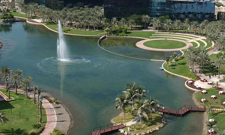 Dubai Media City Park
