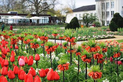 Kaiser-Karls-Park in der Gartenschau Bad Lippspringe