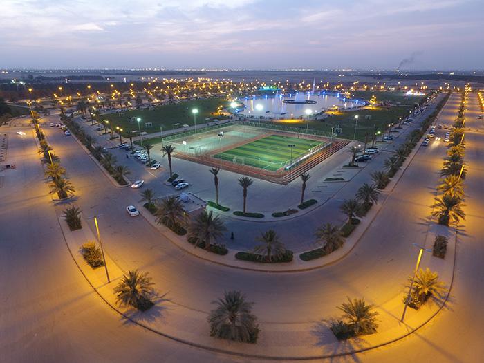 متنزه الامير فيصل بن مشعل بن سعود بن عبدالعزير