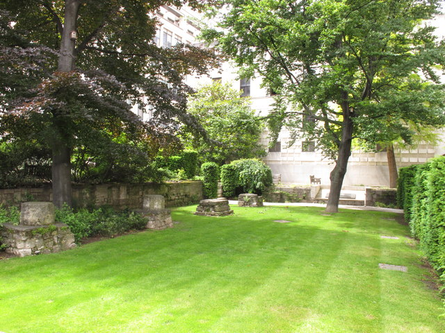 Saint Mary Aldermanbury Garden