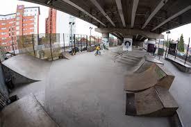 Mancunian Way skate park