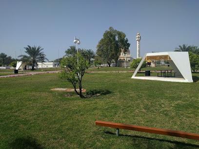 The public park in Dalma island