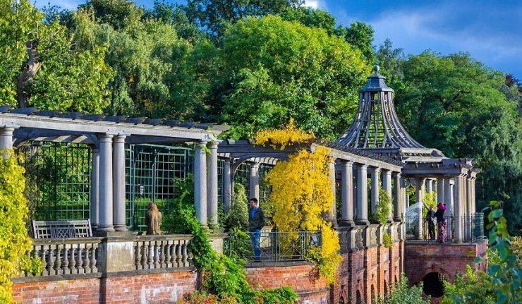 Pergola & Hill Garden